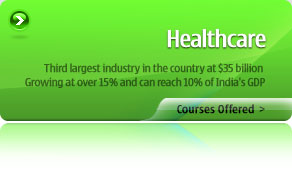 Healthcare - Courses Offered